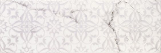 Velutti white decor 01 250х750